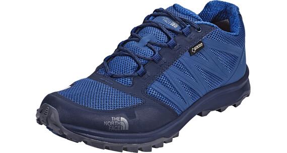 The North Face Litewave Fastpack GTX Shoes Men Shady Blue/Zinc Grey